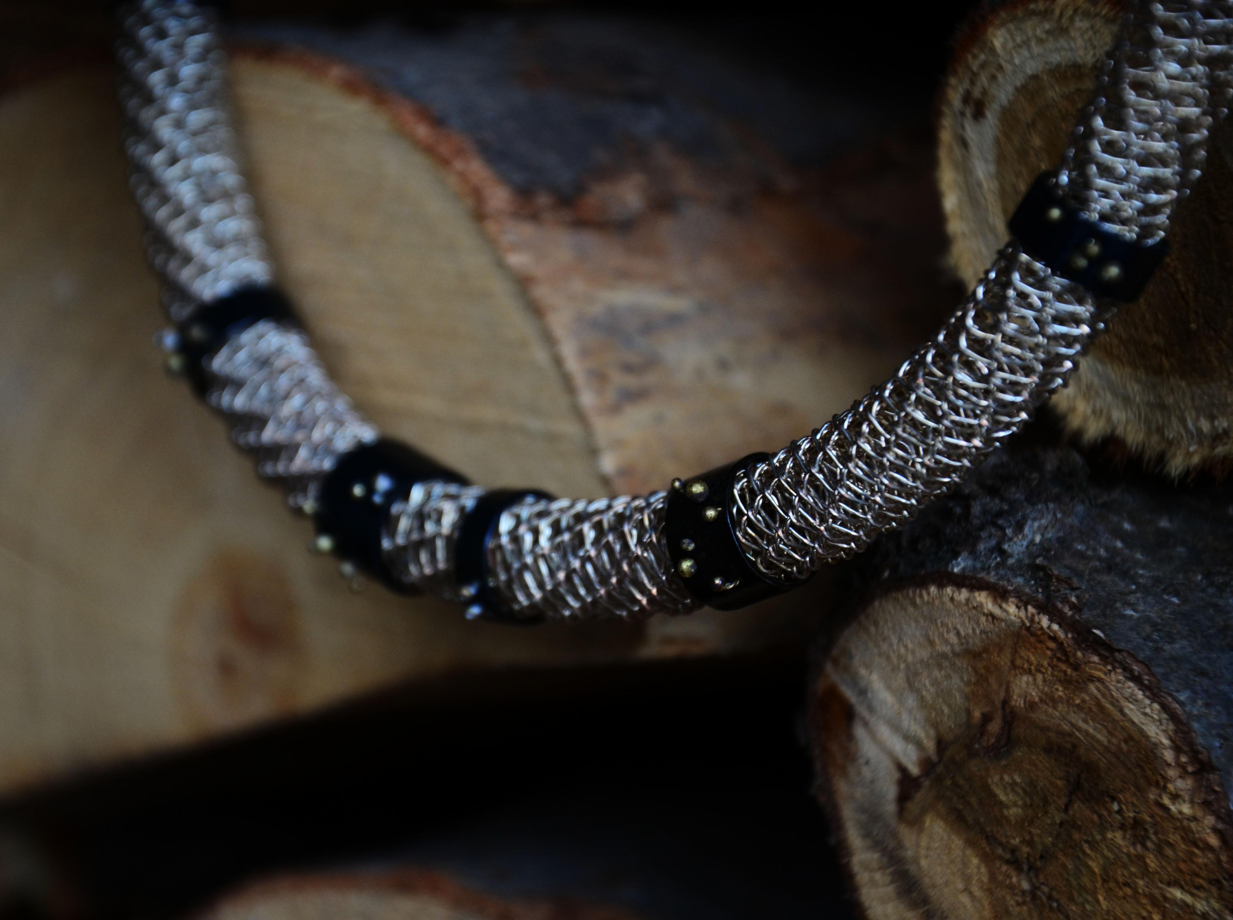 INTRECCI - necklace BALL - sezioneR