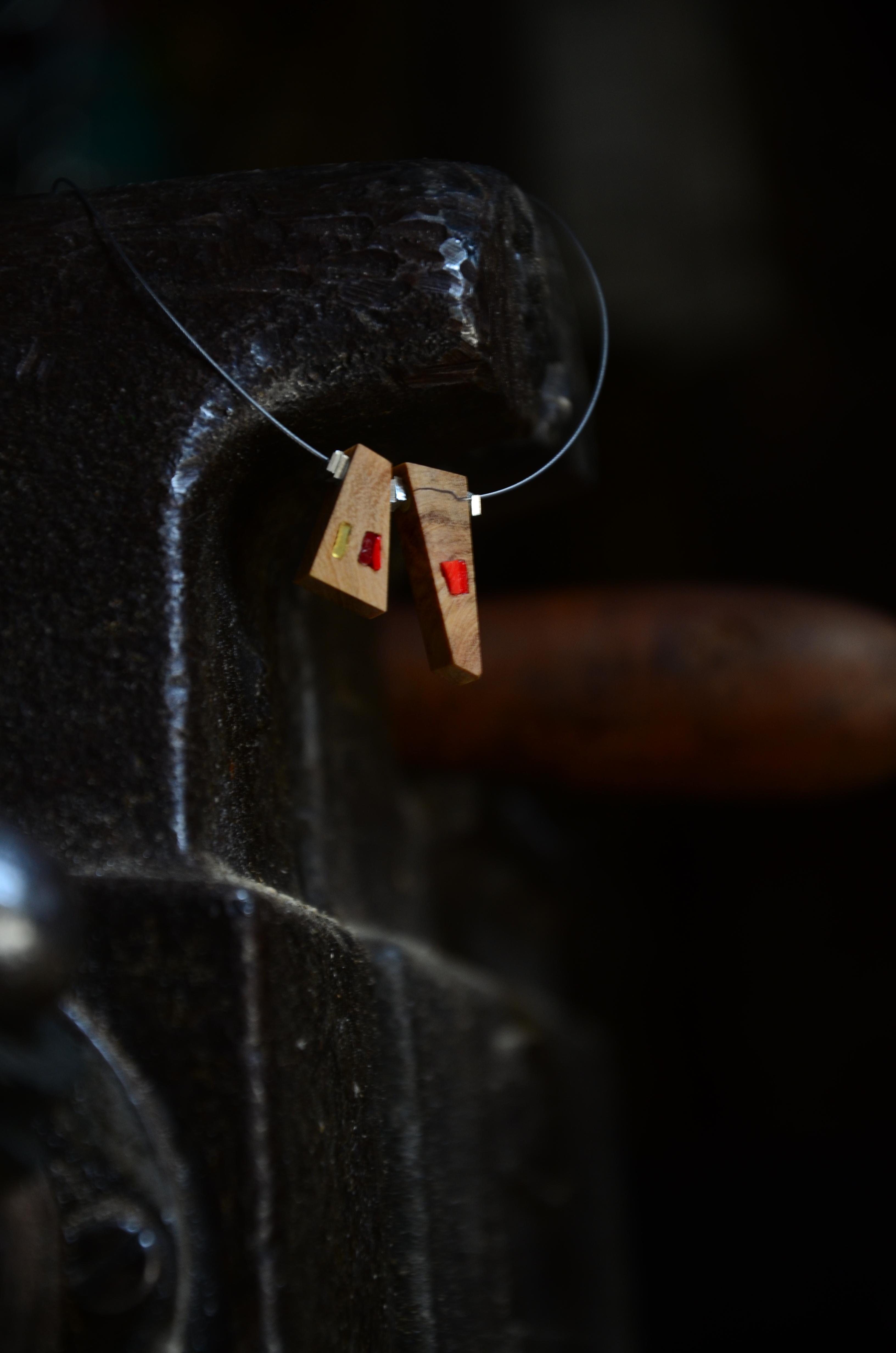 TESSERE - necklace DUOr - sezioneR